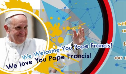 Welcome You Pope Francis