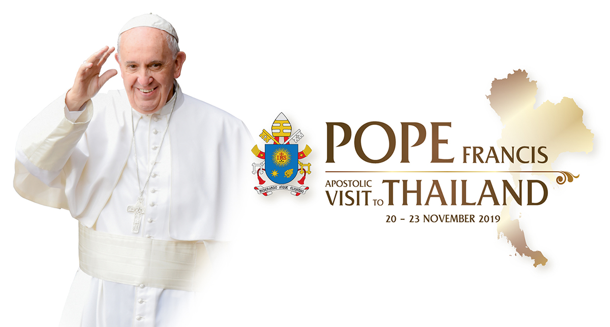 Pope's visit to Thailand