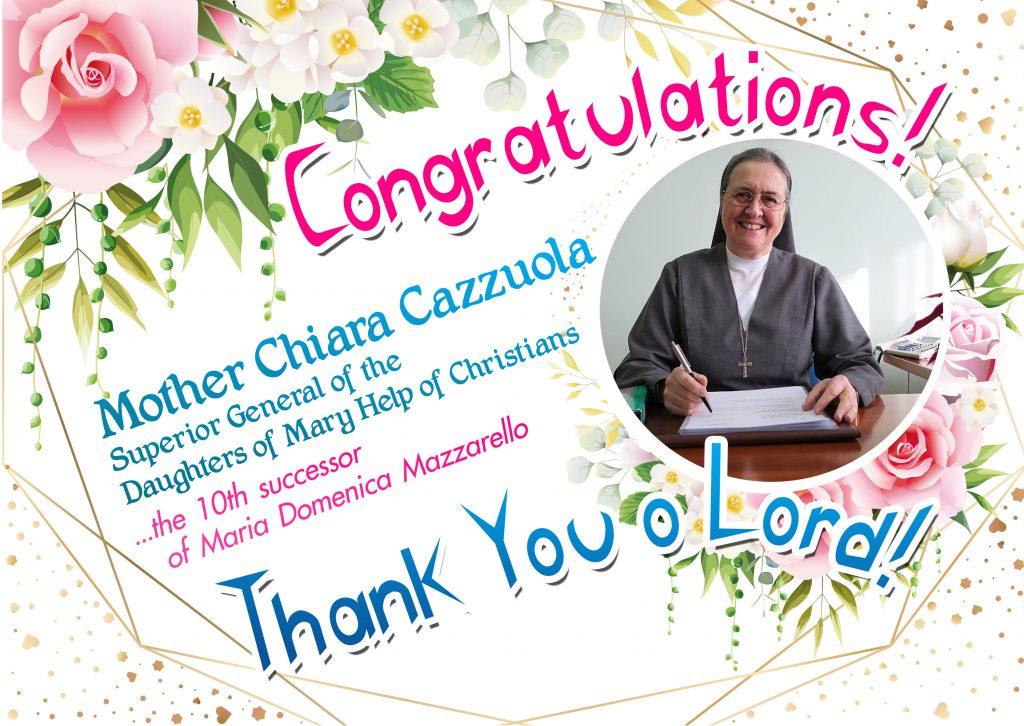Congra_Madre Chiara Cazzuola